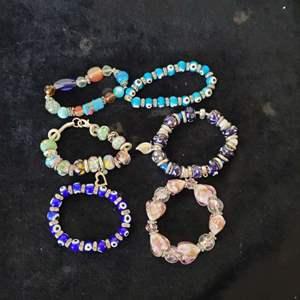 Lot # 357 (6) Stretch Bracelets