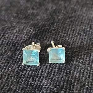 Lot # 362 Sterling Silver Earrings