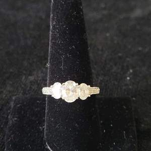 Lot # 367 Beautiful Sterling Silver Ring