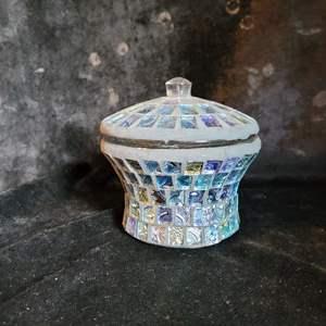 Lot # 378 Beautiful Mosaic Tile Jar