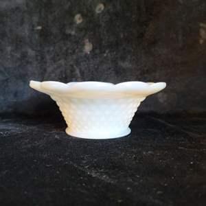 Lot # 393 Vintage Hobnail Bowl