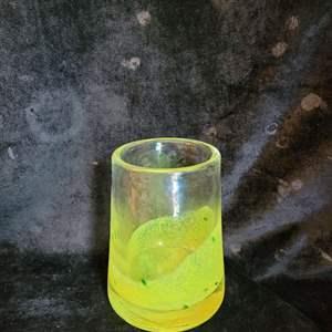 Lot # 396 Blown Glass Vase