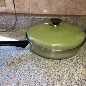 Lot # 420 Vintage Sears Frying Pan