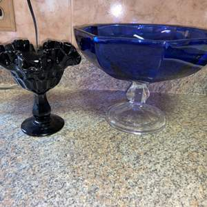 Lot # 429 Glass Candy Dishes