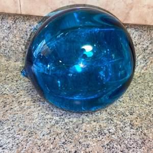 Lot # 430 Nice Blue Glass Float