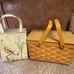 Lot # 439 Decorative Baskets