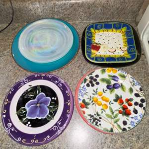 Lot # 445 Collection of Plates