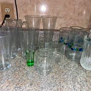 Lot # 447 Assortment of Drinking Glasses
