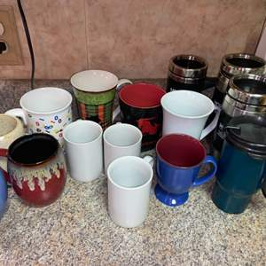 Lot # 448 Coffee Cups & Mugs