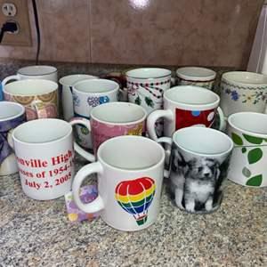 Lot # 462 Assortment of Mugs