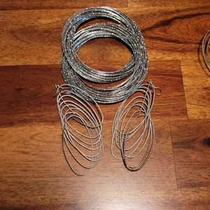 Lot # 490 Bangle Bracelets w/ Matching Earrings