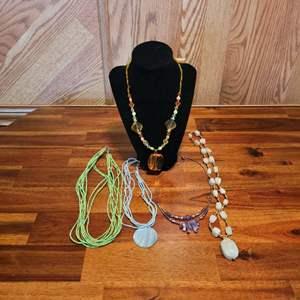 Lot # 492 Beautiful Fashion Necklaces
