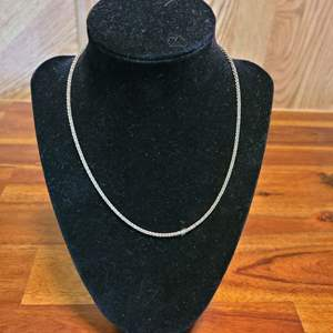 Lot # 496 Sterling Silver Necklace