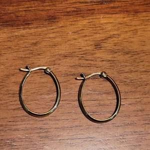 Lot # 498 Sterling Silver Hoop Earrings
