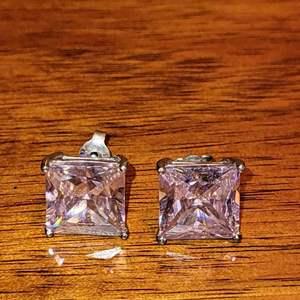 Lot # 499 Pair of Sterling Silver Earrings