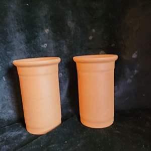 Lot # 516 (2) Terracotta Wine Coolers