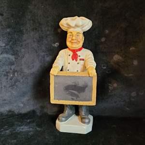 Lot # 521 Fat Chef Chalk Board