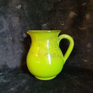 Lot # 535 Green Pitcher- Made in Italy