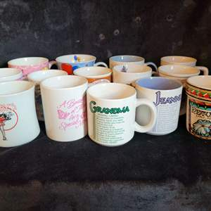 Lot # 538 (14) Assorted Coffee Cups