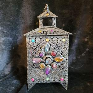 Lot # 544 Gorgeous Metal Candle Holder