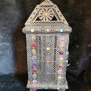 Lot # 545 Gorgeous Metal Candle Holder