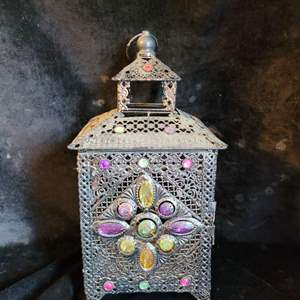 Lot # 546 Gorgeous Metal Candle Holder