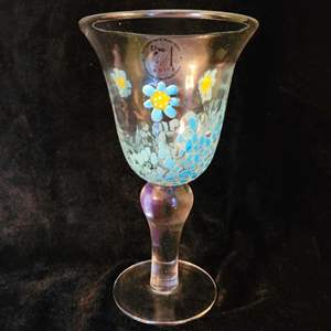 Lot # 556 Amici Hand Made Glass - NEW