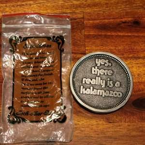 Lot # 561 Kalamazoo Belt Buckle