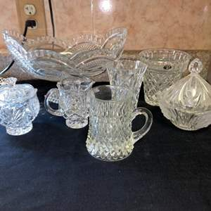 Lot # 585 Wonderful Assortment of Crystal Pieces
