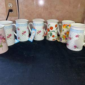Lot # 598 Spring Time Creamers
