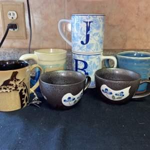 Lot # 606 Decorative Coffee Mugs