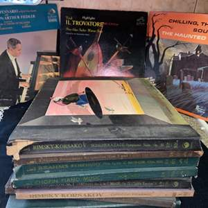 Lot # 609 Collection of Classical Records