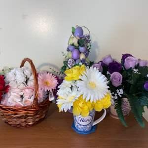 Lot # 623 Floral Arrangements