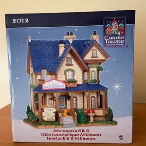 Lot # 630 Carole Towne Atkinson's Bed and Breadfast Lighted Christmas House