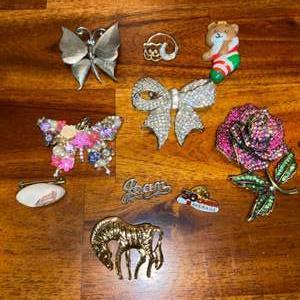 Lot # 663 Pins & Brooches