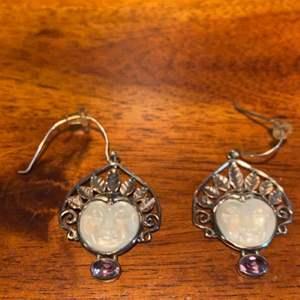 Lot # 669 Gorgeous Sterling Silver Earrings