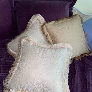 Lot # 681 (3) Soft Impressions Throw Pillows