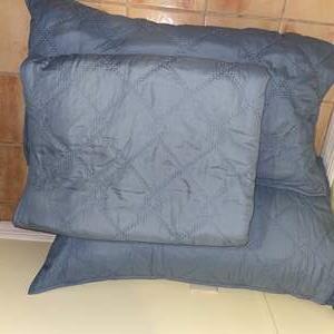 Lot # 682 Curio Quilt w/ 2 Pillows