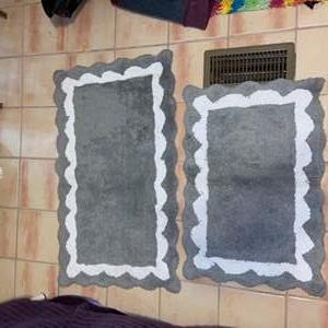 Lot # 686 (2) Bathroom Rugs