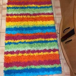"""Lot # 689 Colorful Mohawk Shag Area Rug 30""""x46"""""""