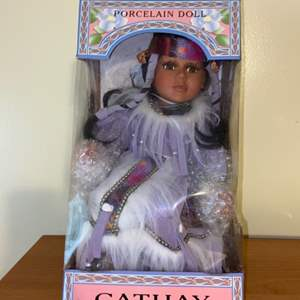 Lot # 702 Cathy Collection Porcelain Doll