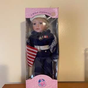 Lot # 704 J. MTSA Collection Navy Doll
