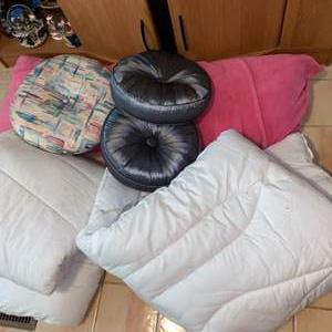 Lot # 746 Twin Comforters & Pillows