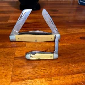 Lot # 753 (2) Vintage Pocket Knives