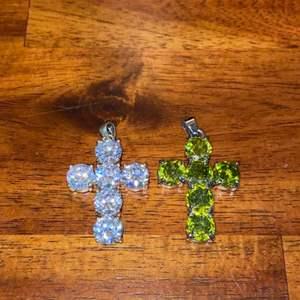 Lot # 754 (2) Beautiful Cross Charms