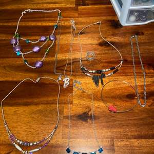 Lot # 759 Fashion Necklaces & Ring