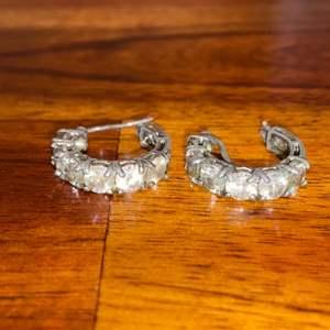 Lot # 760 Beautiful Sterling Silver Earrings Marked 925