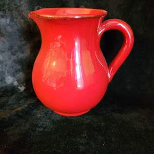 Lot # 784 Red Pitcher - Made in Italy