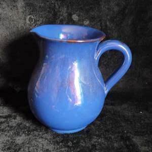 Lot # 785 Blue Pitcher- Made in Italy