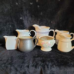 Lot # 793 Assorted Pitchers